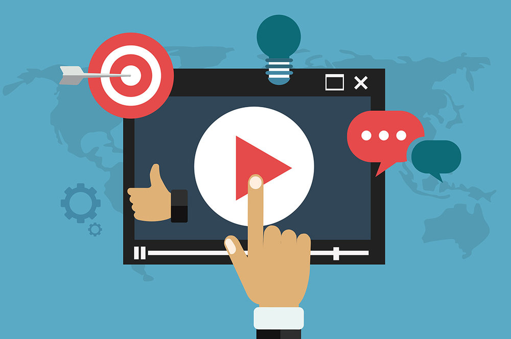 A good website boasts video to increase ranking, 'stickiness' and diversity of content.