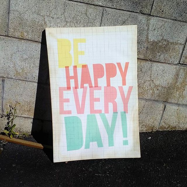 I found this on the street on my way to work this morning. It set me up for the day. Hope you had a good day too. Bring on tomorrow!