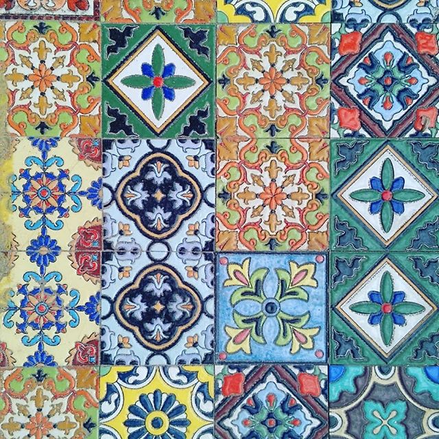 Been inspired to use the colours of these ceramic floor tiles in Hanoi.  #hanoi #floortiles #ceramics #colourinspiration #designinspiration
