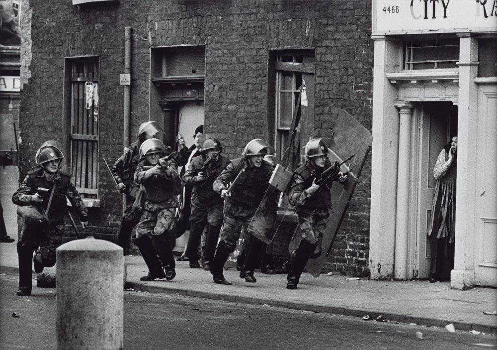 Northern Ireland, Londonderry, 1971