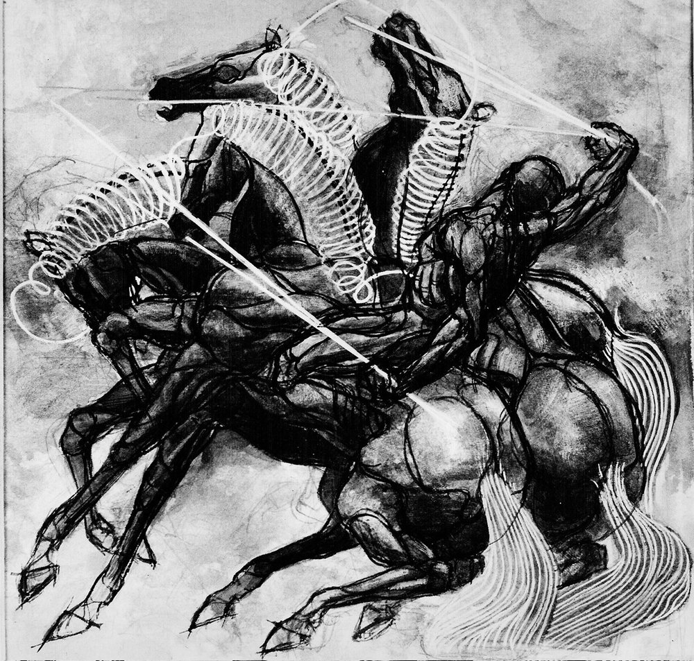 AM - Horse and Man BW.jpg