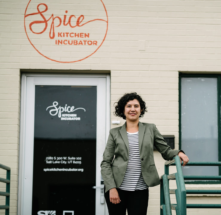 Natalie El-Deiry, co-founder Spice Kitchen Incubator.