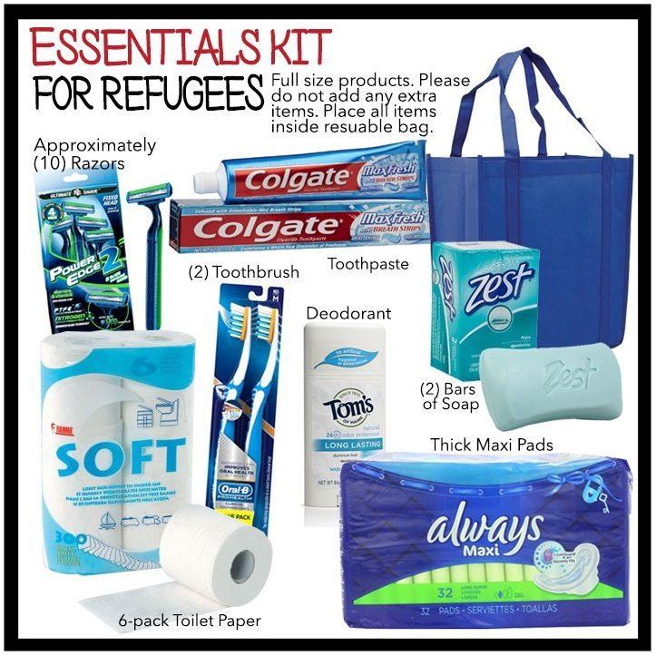 Serve Refugees Sharehouse - Essentials Kit