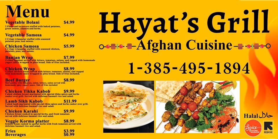 Visit Hayat's Grill Facebook page for the latest on his new food truck.