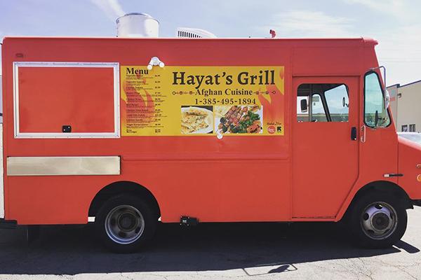 Hayat's Grill new food truck.