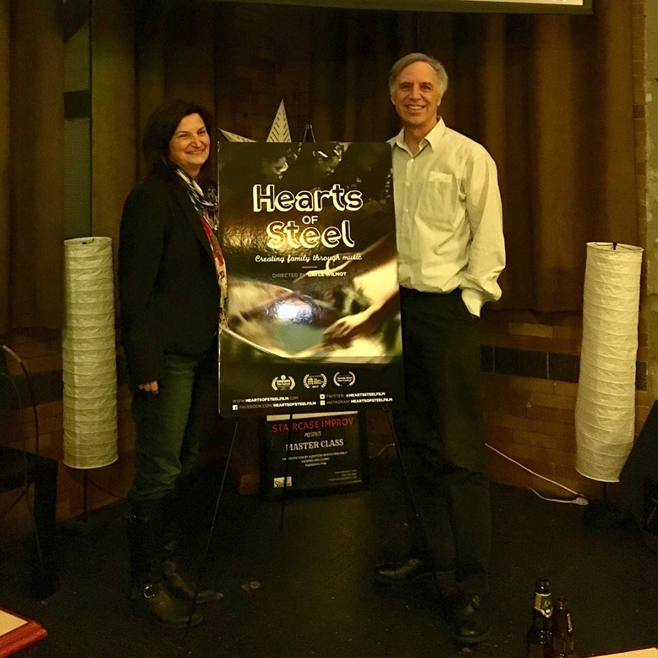 Gayle Wilmot and executive producer Kim Davidson attend the Hamilton Film Festival screening
