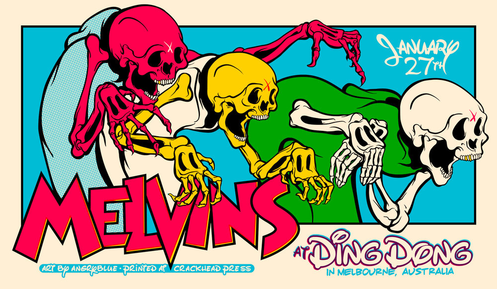 Melvins at the Ding Dong.