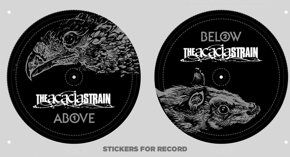 Stickers for 7""