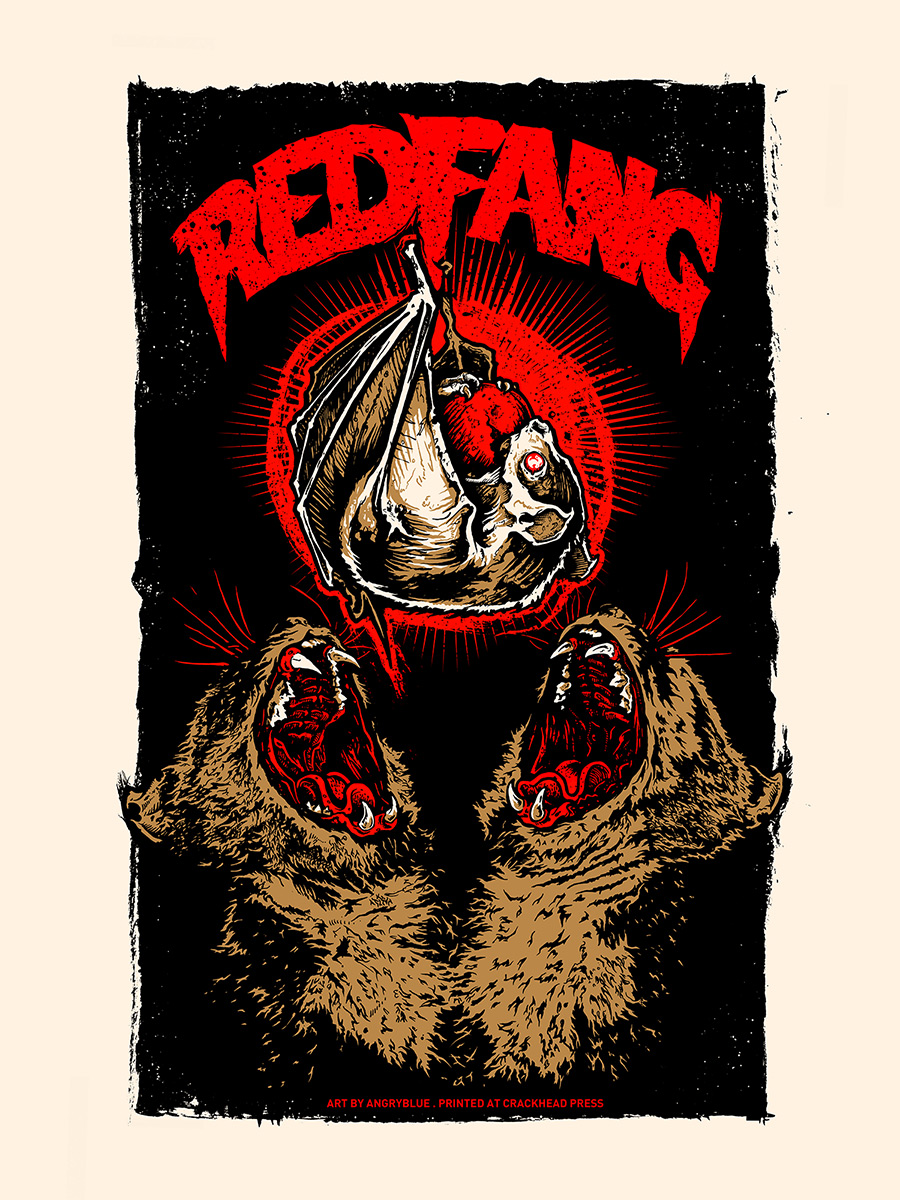 Red Fang Poster.