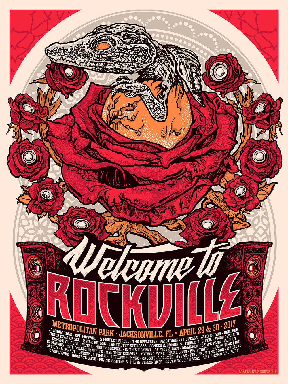 Welcome to Rockville 2017 by Angryblue
