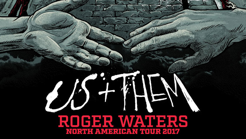roger waters usthem tour poster � angryblue
