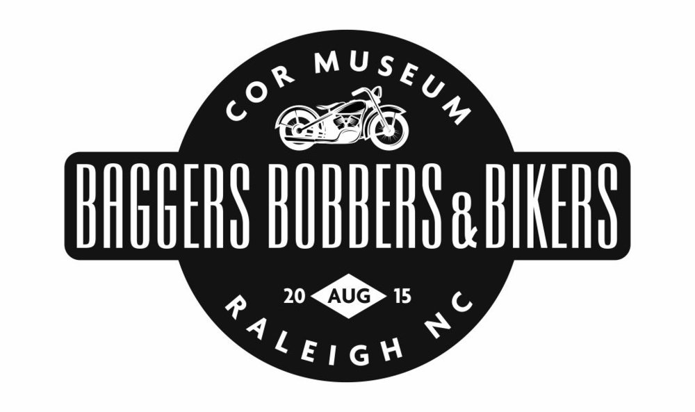 Baggers Bobbers & Bikers | Logo Design by Cybergraph