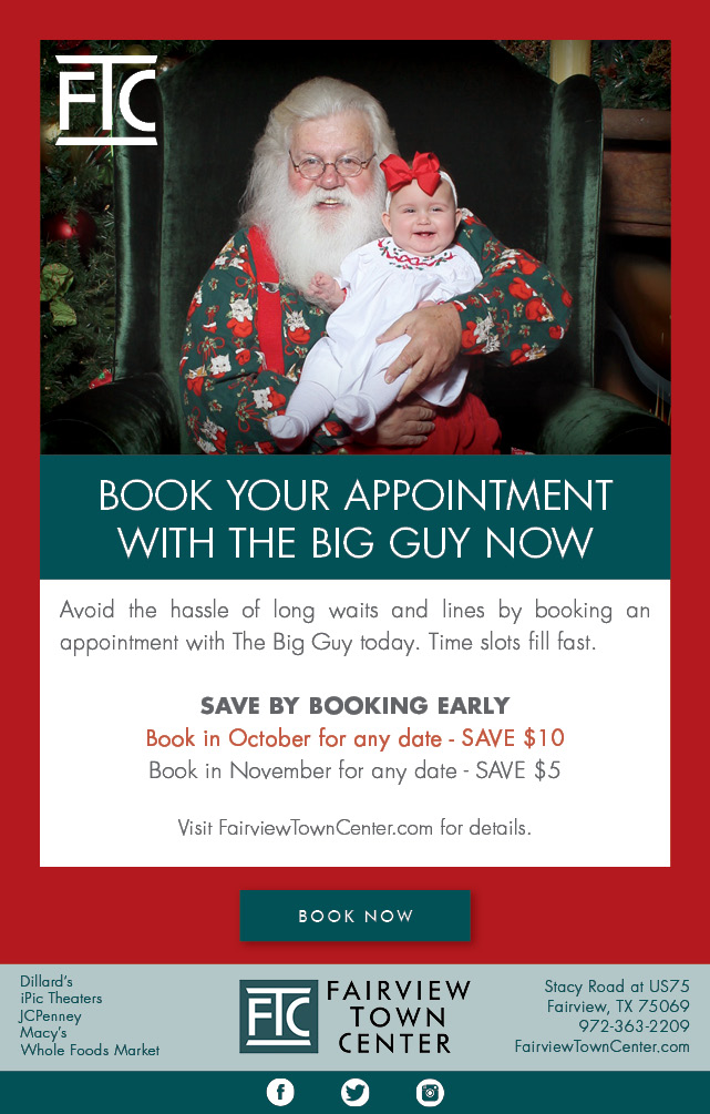 Santa Holiday Email Blast