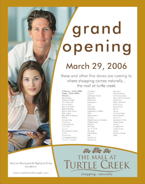Grand Opening Print Ad Design | Graphic Design by Cybergraph