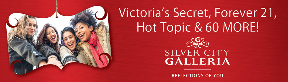 Fashion Holiday Billboard Design for Silver City Galleria by Cybergraph®