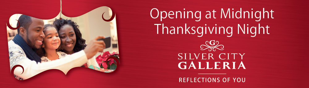 Black Friday Holiday Billboard Design for Silver City Galleria by Cybergraph®