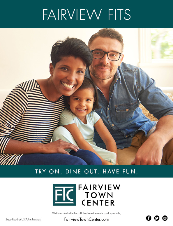 Chamber of Commerce Ad for Fairview Town Center