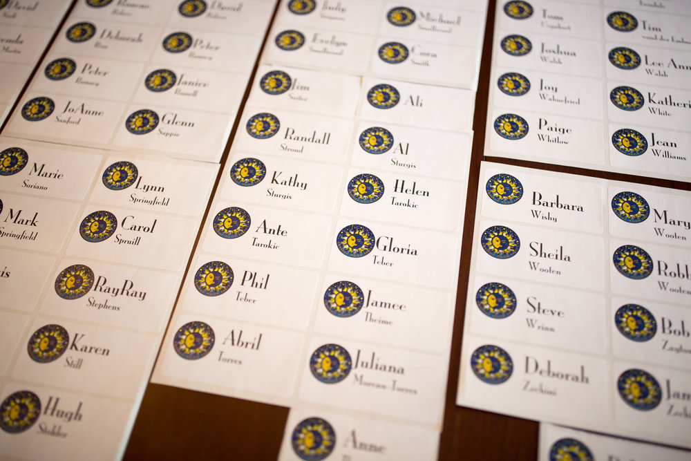 Custom Name Tags |  | Design by Cybergraph of Raleigh