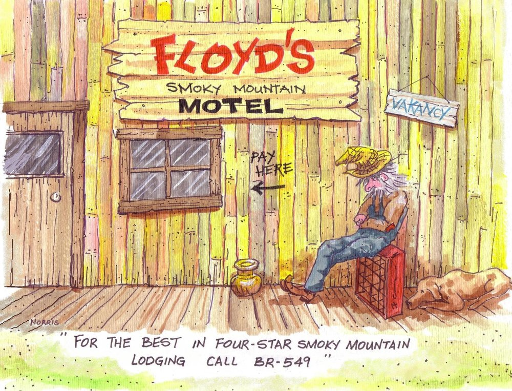 Smoky Mountain Floyd #6
