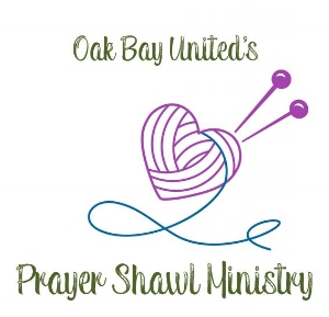 Prayer Shawl Ministry Prayer Shawl Ministry is a tangible way of offering the support, love and comfort of Oak Bay United Church as a part of Pastoral Care.  The shawls are knitted or crocheted at home with prayers and concern for those who may receive them.  The shawls are brought to the office, blessed in worship and distributed at the discretion of Rev. Michelle.  If you would like to offer your care, gifts and skills through this ministry and would like more information, please contact Barb Foster at 250-598-5200 or Helen Waddell at 250-592-4024.