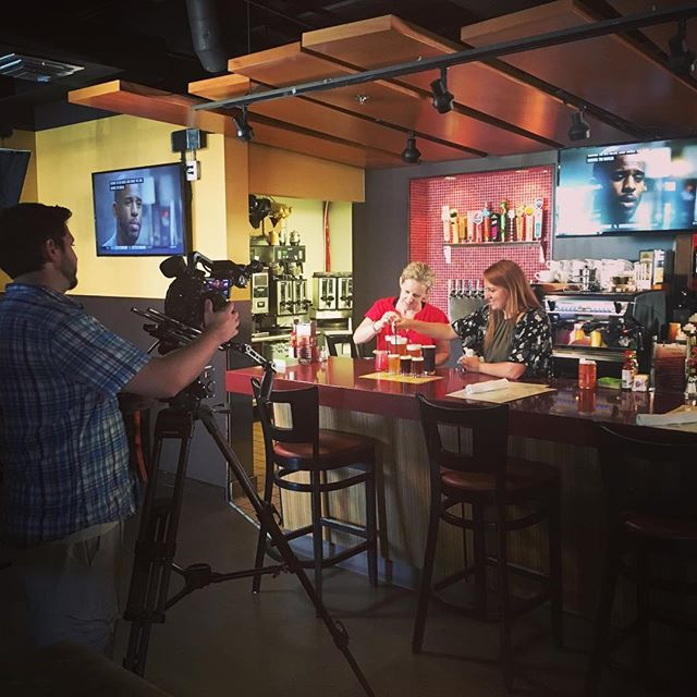 Great shoot today at Daily Dose Old Town!