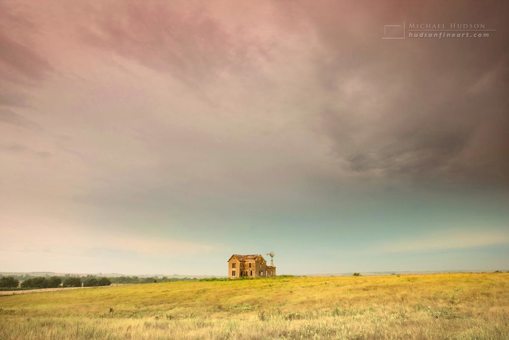 Abandoned Farmhouse, Phillips County, Kansas