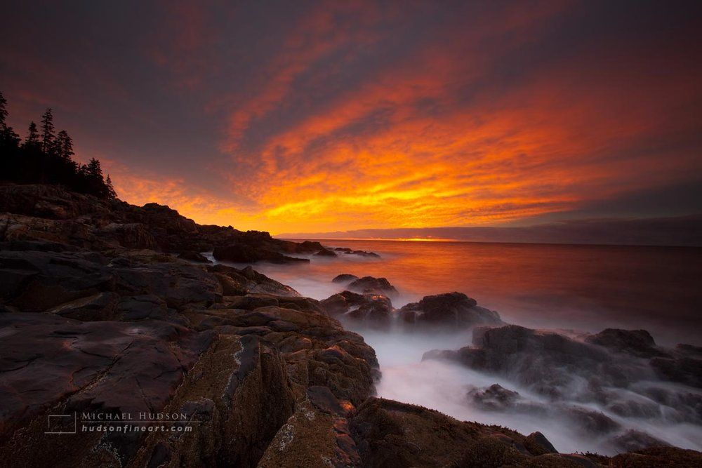 Sunrise, Acadia National Park, Maine