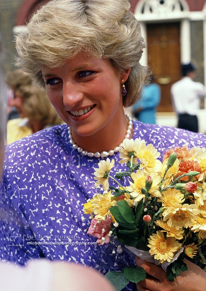 Princess Diana, Brixton, 1987