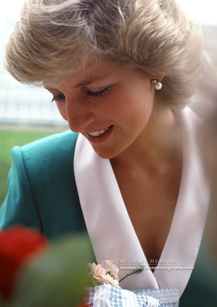Princess Diana, Kew Gardens, 1987
