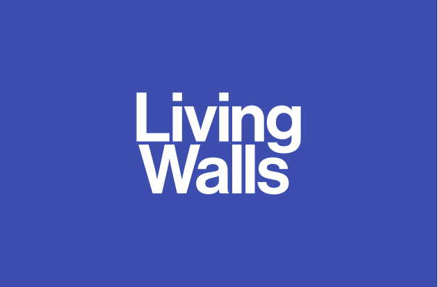 Living Walls Primary wordmark