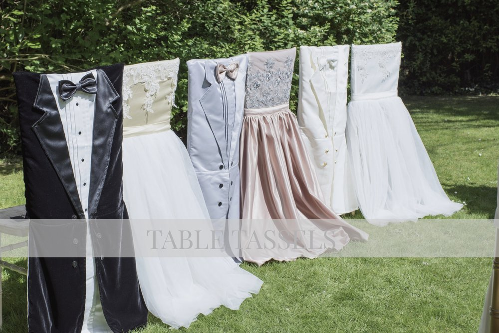 Bridal & Groom Chair Covers