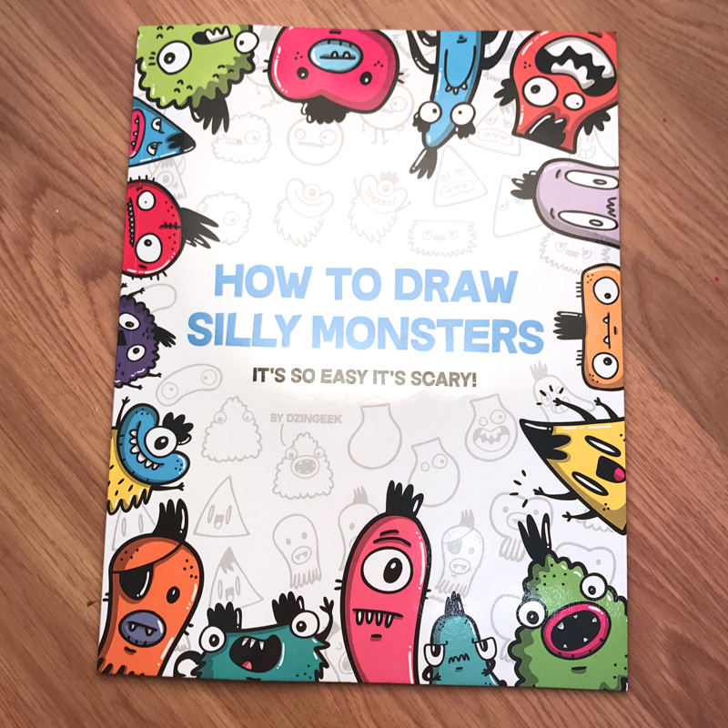 How to draw silly monsters book $9.99