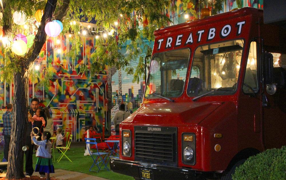 Treatbot Park, Eastridge Mall