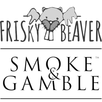 To access the Frisky Beaver website, click on the logo above. To access the Smoke and Gamble website, please click on the logo below this one.