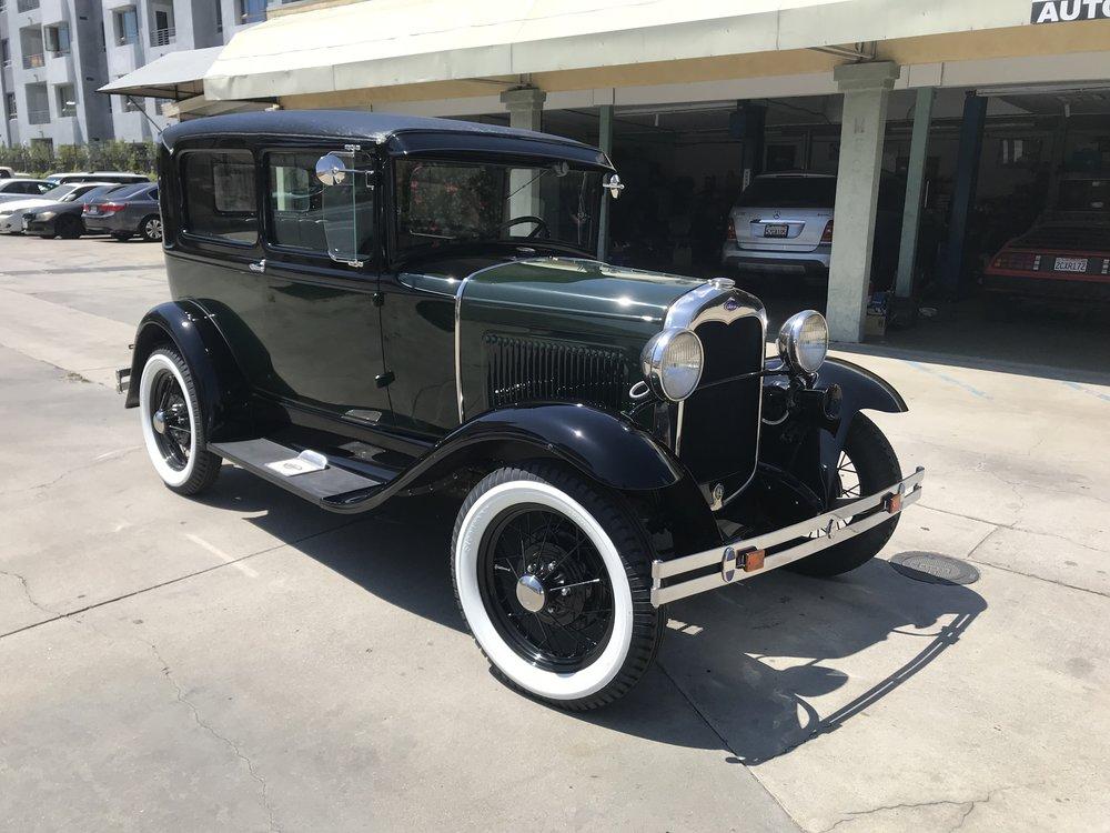 1931 Ford Model A, Full Restoration