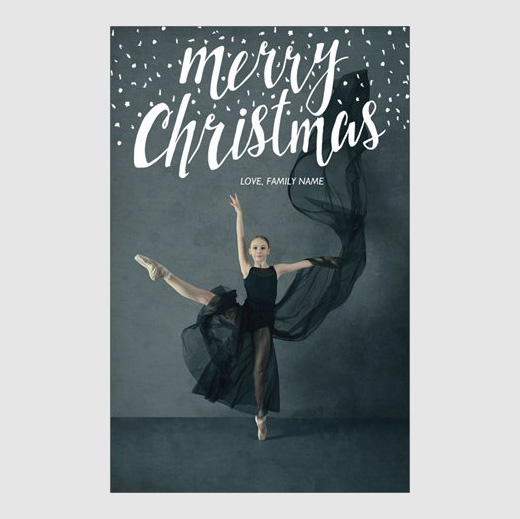 Get your holiday card photos taken with Scottsdale dance photographer Emily Black.