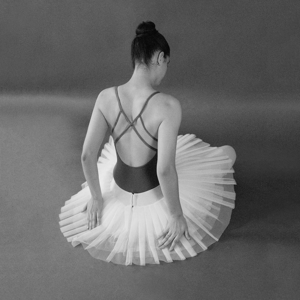 Black and Ballerina in a Tutu