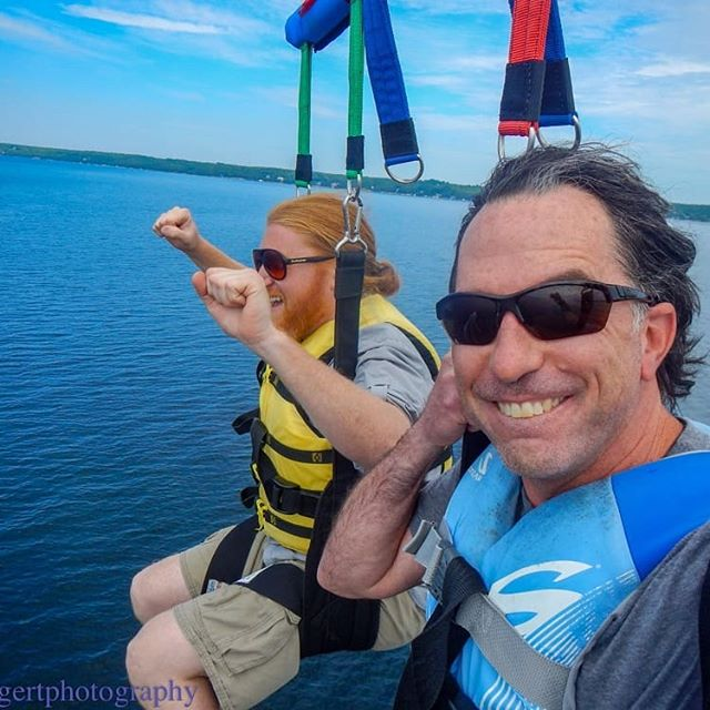Want to have some fun? Call us at (920) 854-0199 or book online at parasaildoorcounty.com. . . . . . #parasailing #parasail #parasailingtime #parasailingfun #parasailingadventures #vacationfun #vacation #fun #adventure #parasailingboat #funthingstodo #watersports #watersportsfun #beach #parasailors #doorcounty #sisterbay #sisterbayDoorCo #sisterbaywisconsin #doorcountywisconsin #sisterbaymarina #water #parasailingparadise #parasailingday @bruceleetags