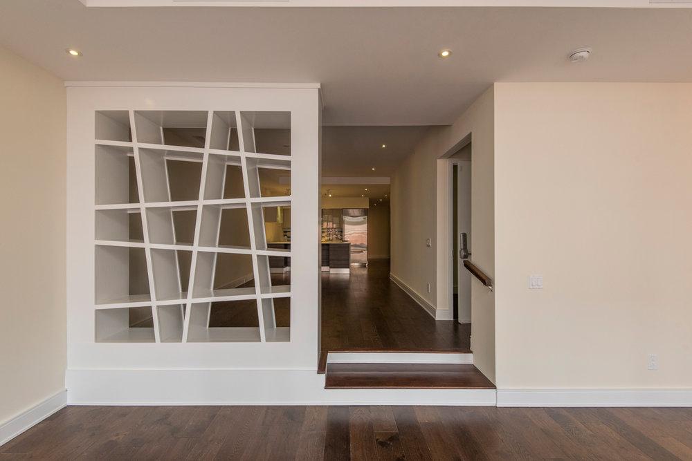 233 Chestnut Street | Unit 4 Kitchen, Dining, Living Room
