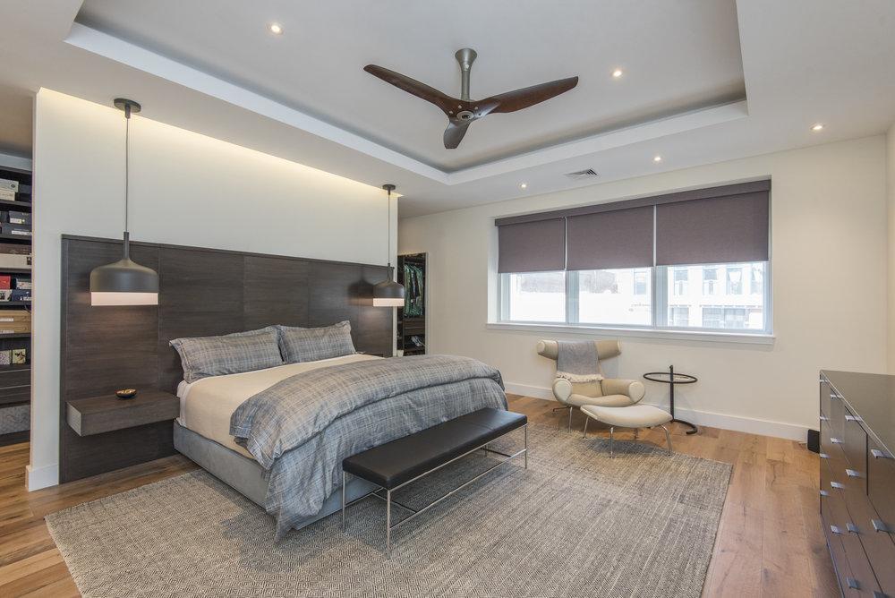 725 Chestnut Street | Unit 2 Master Bedroom