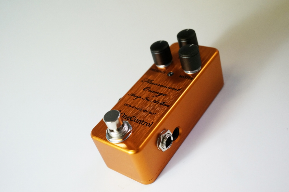 One Control Fluorescent Orange Amp In A Box