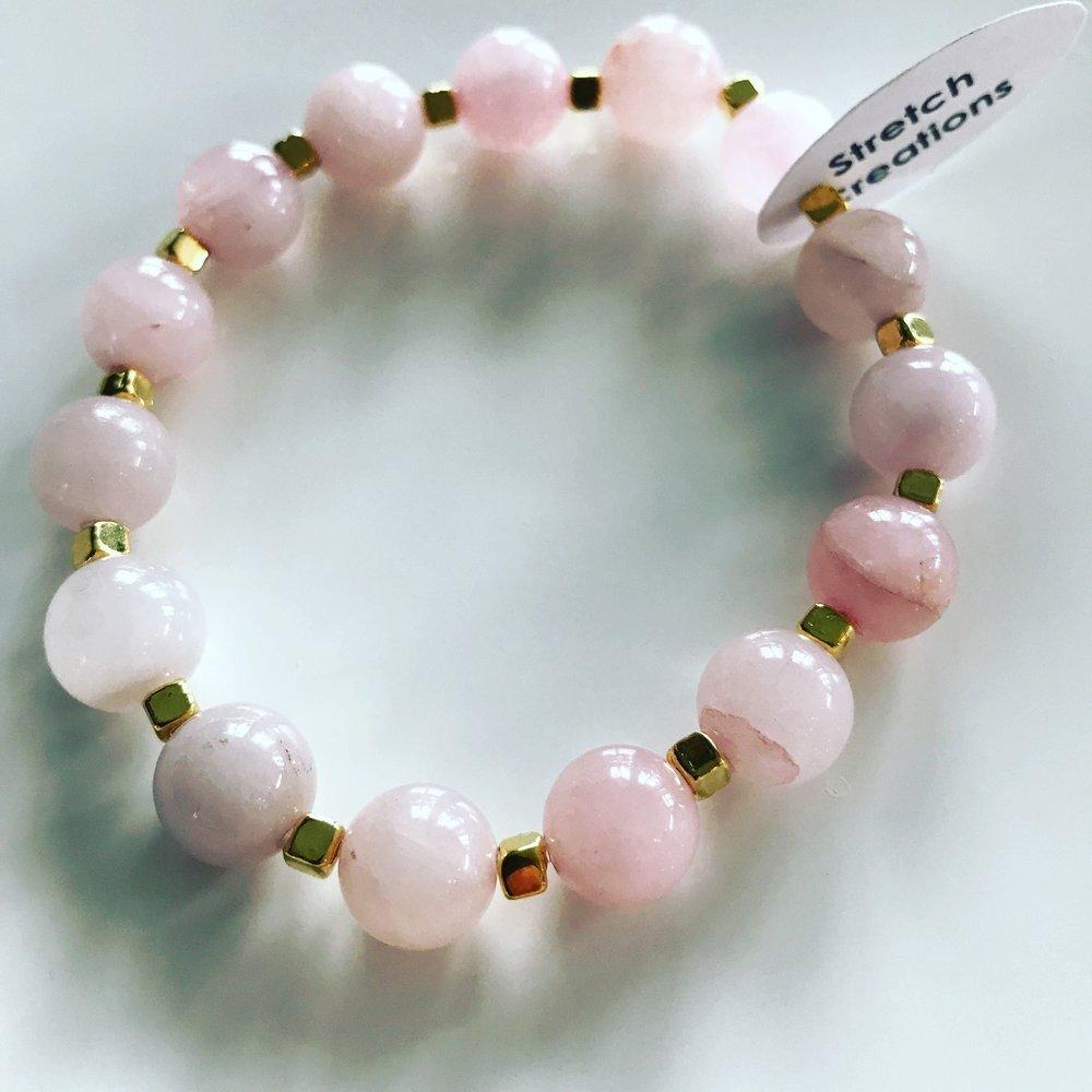 Rose Quartz Self Love Bracelet