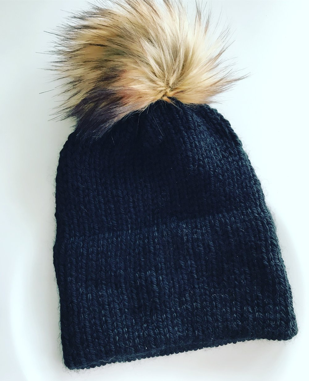 Double Brimmed Toque