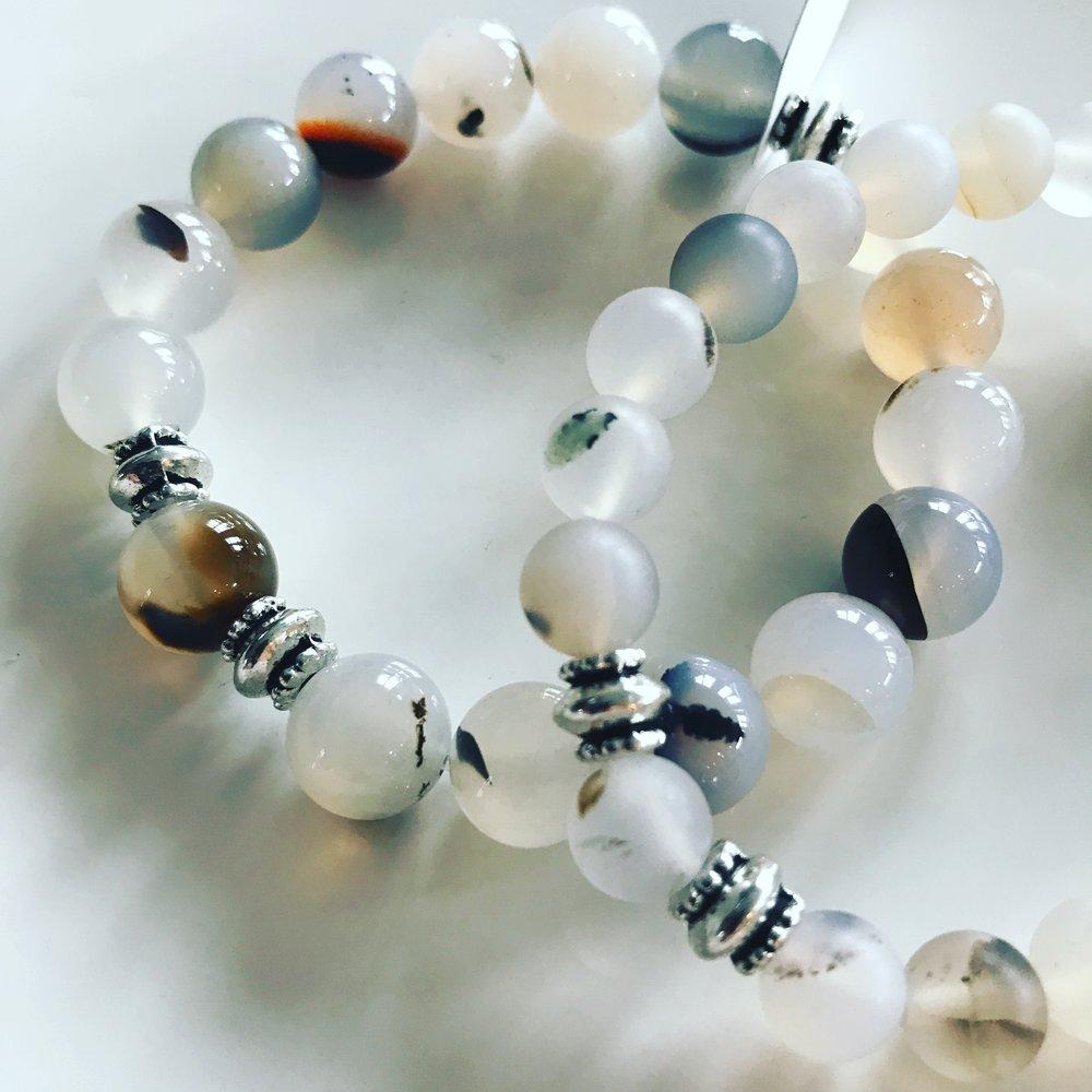 Chalcedony Crystal Bracelet