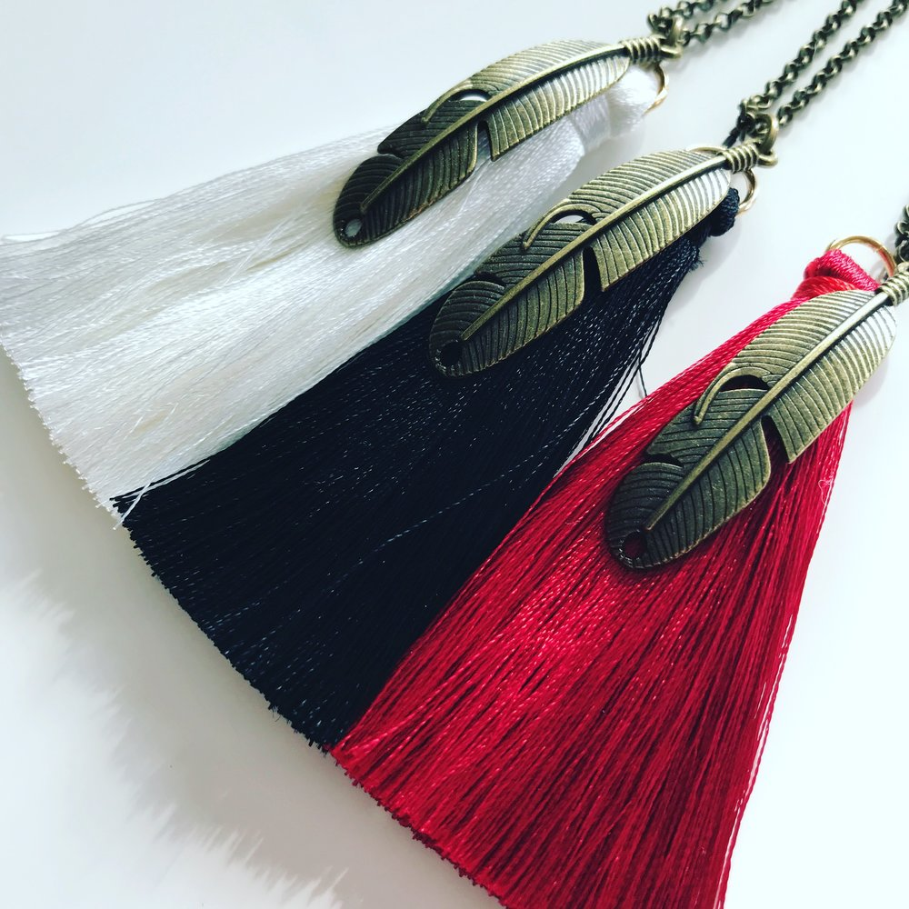 Freedom Feather Necklace