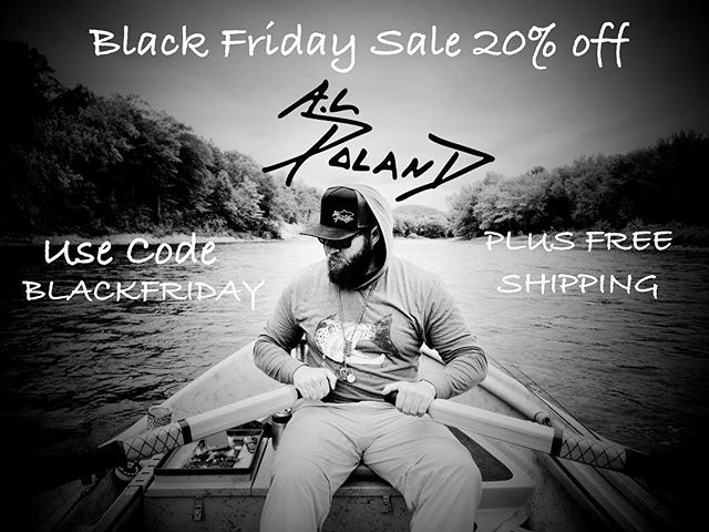 Applies to everything....including originals!  Link in bio! #alpolandart #flyfishingart #fishingart #fishart #flyfishingapparel #finart #fishingapparel #flyfishing #flyfishingaddict #flyfishingnation #blackfriday #sale #christmassale #fall #holidays