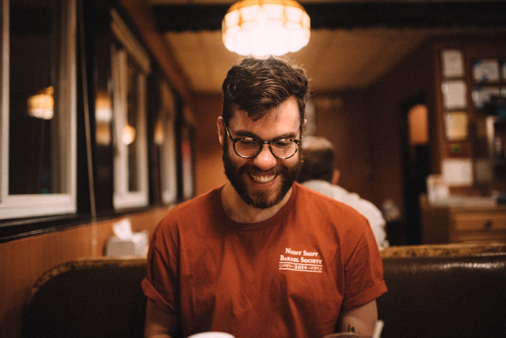Tim Oxton, Art Director, Night Shift Brewing