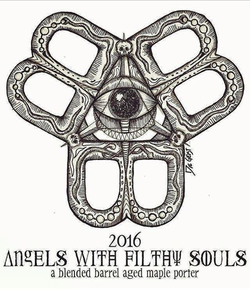 "Bissell Brothers ""Angels With Filthy Souls 2016"" design development"