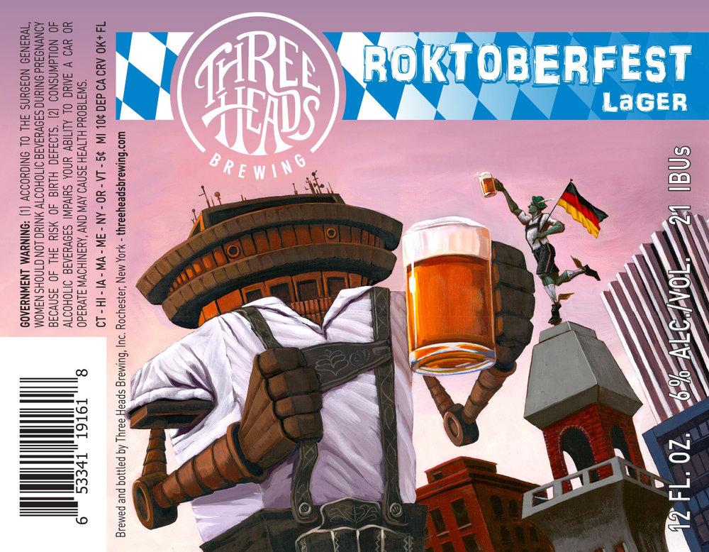 "Final label design, ""Roktoberfest"" Lager"