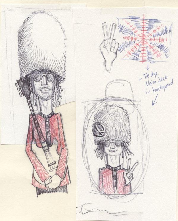 """""""Blimey"""" IPA development sketch by Allen Firlit"""